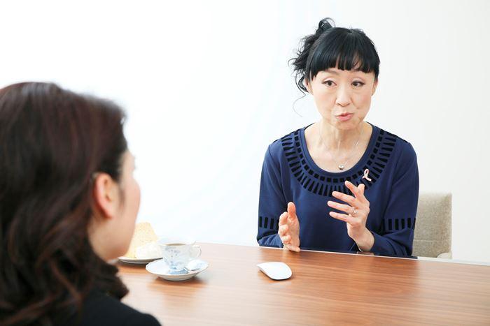 土井卓子先生と野口奈津子