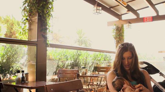 お気に入りのカフェでランチ