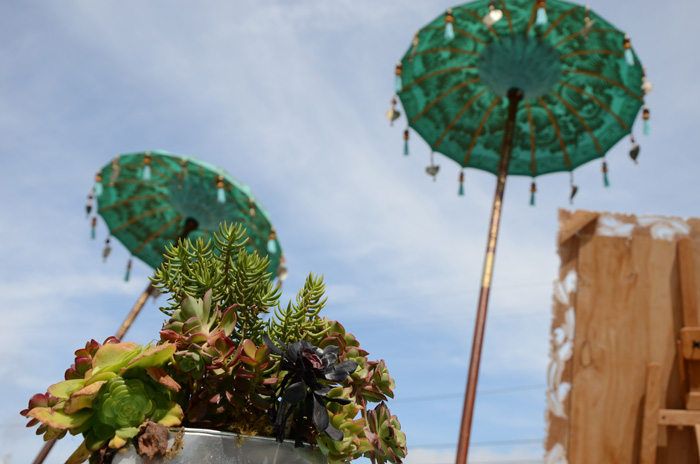 バリ島の傘
