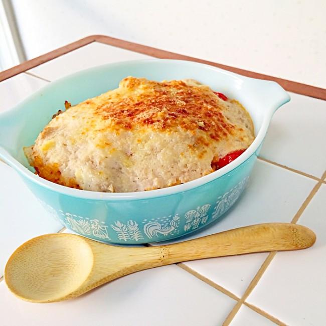 スタミナ回復レシピ「長芋のベジタブルドリア」
