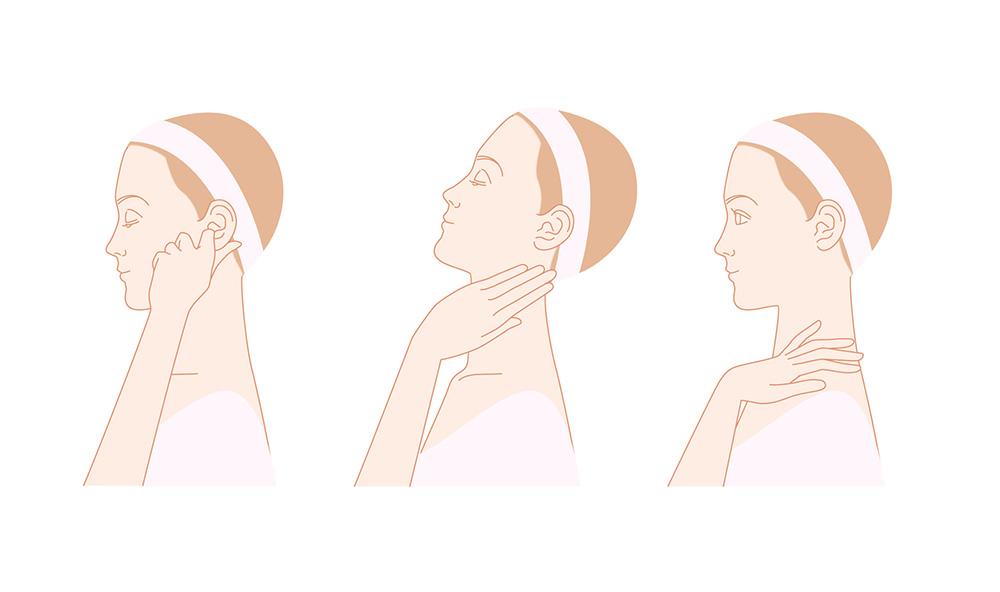 頭皮マッサージから始める美肌作り