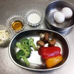 万能な天然甘味料「メープルシロップのベジタリアンオムレツ」