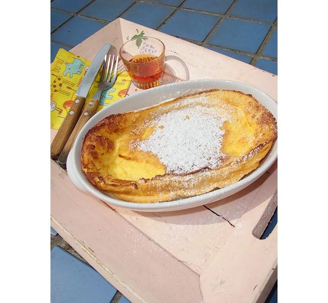 家庭で作れる人気スイーツレシピ「ダッチベイビー・パンケーキ」