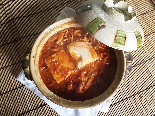 ピリ辛レシピ「ゴジベリーのスンドゥブ風」