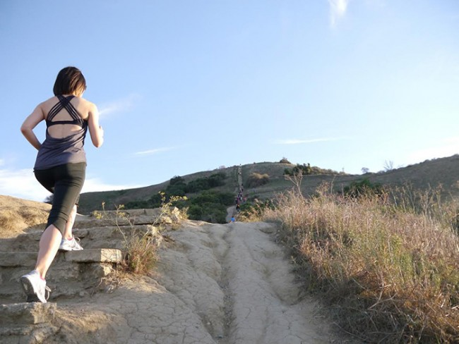 LAで注目を浴びる「階段エクササイズ」とは?