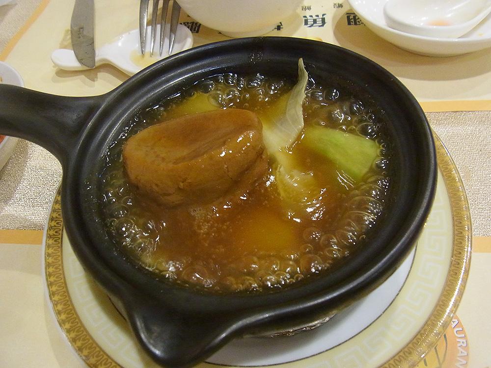 姿の見えるフカヒレ、最高に美味しかったー!これは台湾を訪れた際には必ず一度は食べてください。