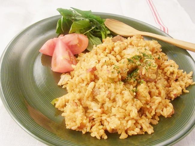 炊飯器で簡単!スパイシーレシピ「ジャンバラヤ」