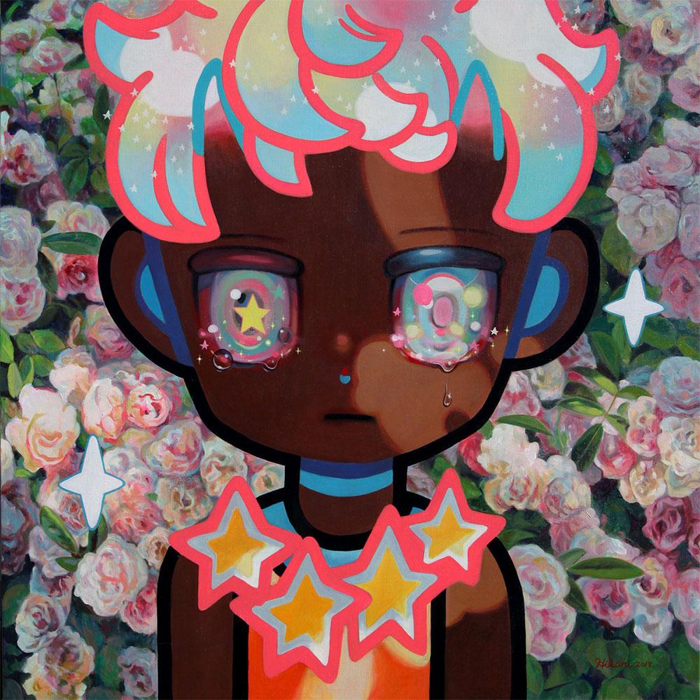LAで話題騒然!日本人画家「下田ひかり」を支える美しきキュレーター、カロ・ビューマンさんインタビュー