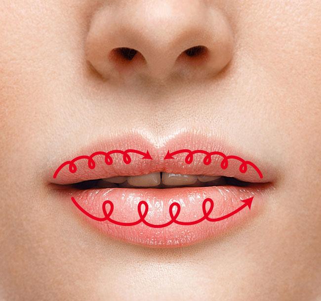 ドラマチックな秋冬カラーの口紅が似合う唇になる方法!