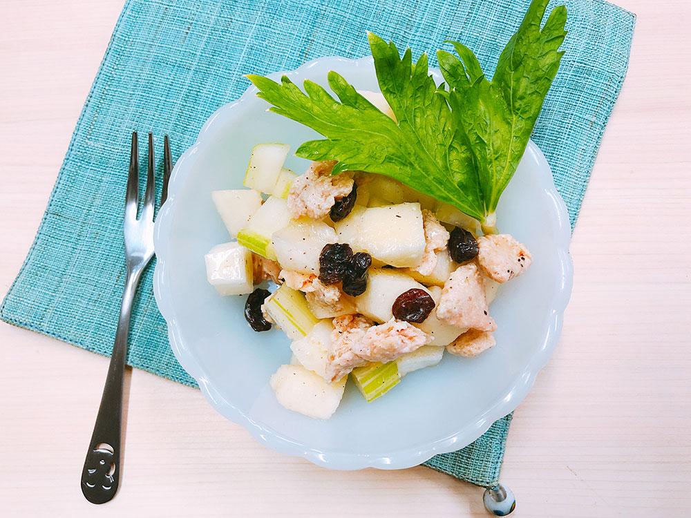 腸内環境を整える発酵食品で健康&美肌に【2】「酒粕チーズのセロリ&りんごサラダ」