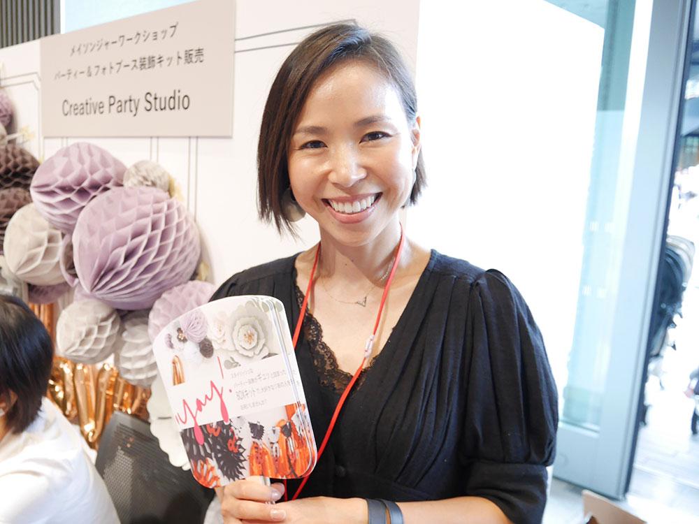 アメリカの最新パーティーを届ける女性CEO、KEIKOさんの日本上陸に密着!