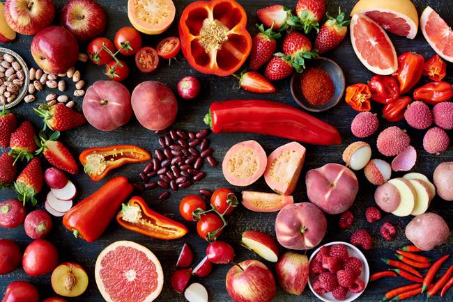 カラフルな野菜と果物を食べて、ヘルシー&キレイになる!