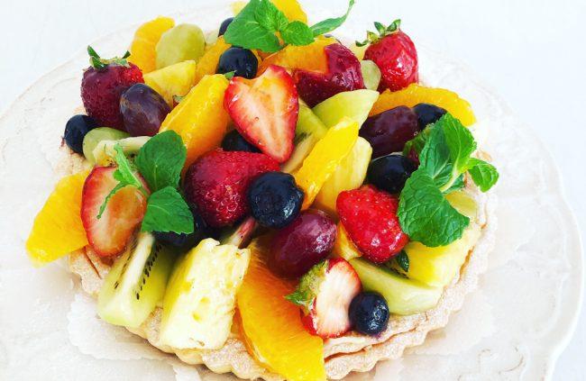 美味しく食べて免疫力アップ!おうちで作りたい「フルーツタルト」