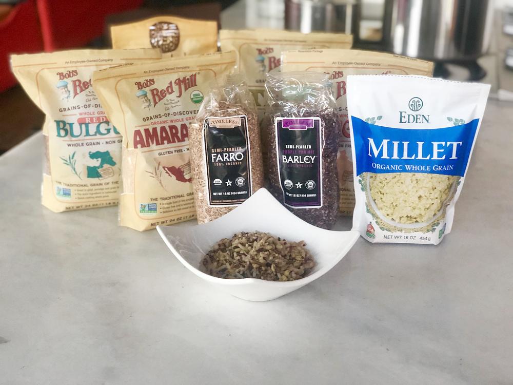 肌もお腹もスッキリのLAで人気古代穀物(Ancient Grains)はコレ!